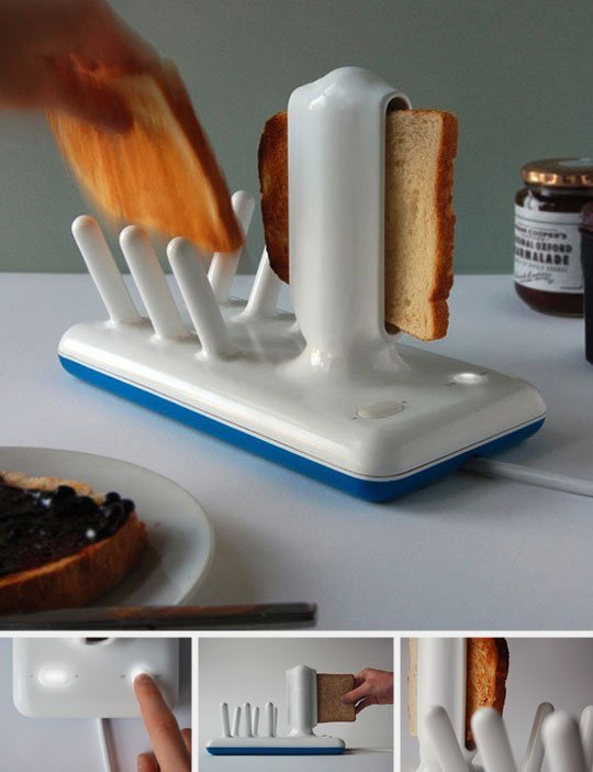 Glide toaster