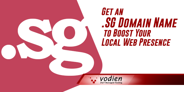Get SG Domain to Boost Local Web Presence