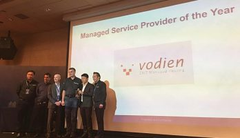 "Vodien Won the 2015 ""Acronis Managed Service Provider of the Year Award"""