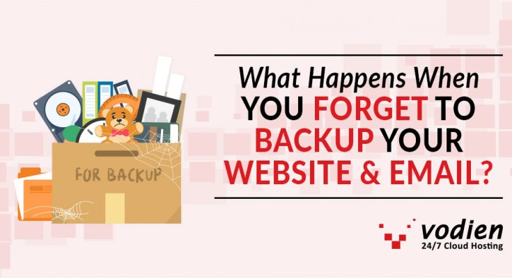 What Happens When you Forget to Backup your Website and Email