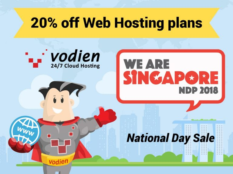 National Day Sale - 6 to 9 Aug 2018