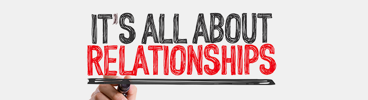 Build relationships with authority websites